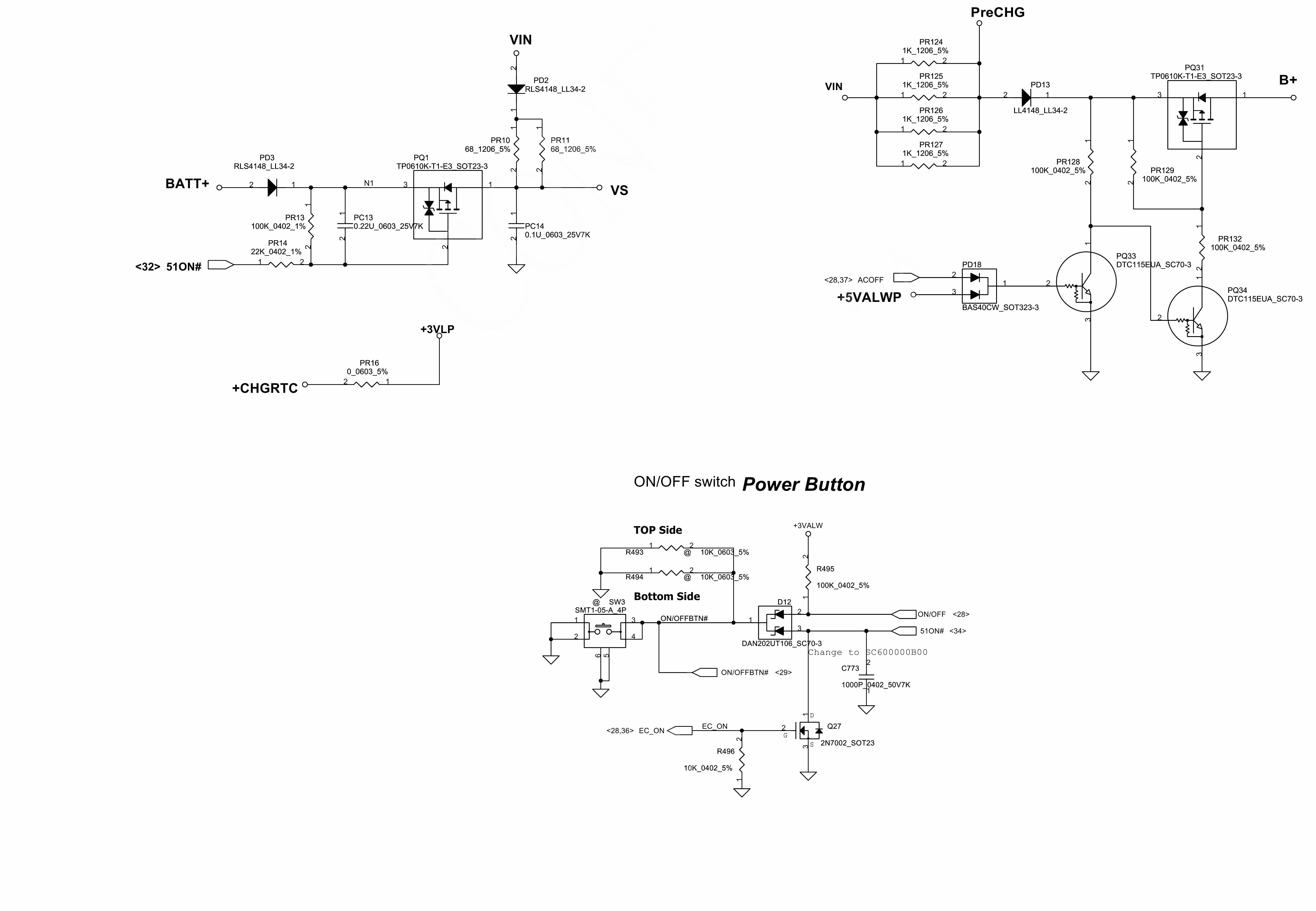схема дежурное питание ноутбука